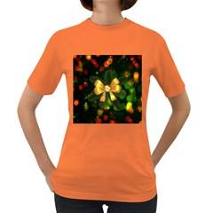 Christmas Celebration Tannenzweig Women s Dark T Shirt