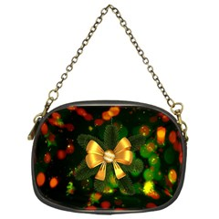 Christmas Celebration Tannenzweig Chain Purses (one Side)