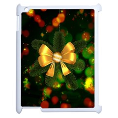 Christmas Celebration Tannenzweig Apple Ipad 2 Case (white)