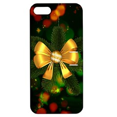 Christmas Celebration Tannenzweig Apple Iphone 5 Hardshell Case With Stand