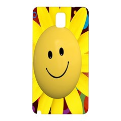 Sun Laugh Rays Luck Happy Samsung Galaxy Note 3 N9005 Hardshell Back Case
