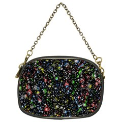 Universe Star Planet All Colorful Chain Purses (one Side)