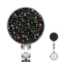 Universe Star Planet All Colorful Stainless Steel Nurses Watch