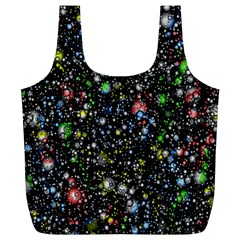 Universe Star Planet All Colorful Full Print Recycle Bags (l)