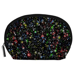 Universe Star Planet All Colorful Accessory Pouches (large)