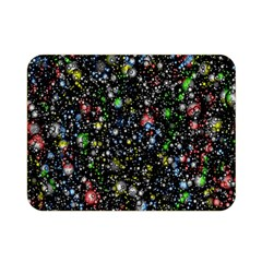 Universe Star Planet All Colorful Double Sided Flano Blanket (mini)