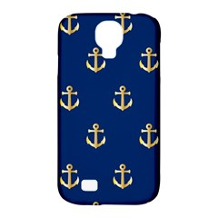 Gold Anchors Background Samsung Galaxy S4 Classic Hardshell Case (pc+silicone)