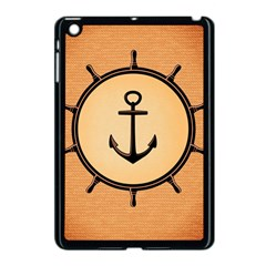 Nautical Anchor Marine Ocean Sea Apple Ipad Mini Case (black)