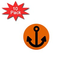 Anchor Keeper Sailing Boat 1  Mini Buttons (10 Pack)