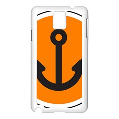 Anchor Keeper Sailing Boat Samsung Galaxy Note 3 N9005 Case (white)