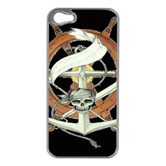 Anchor Seaman Sailor Maritime Ship Apple Iphone 5 Case (silver)