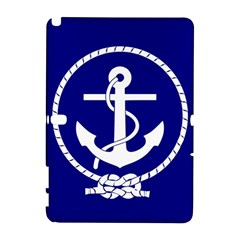 Anchor Flag Blue Background Galaxy Note 1