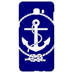 Anchor Flag Blue Background Samsung C9 Pro Hardshell Case