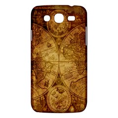 Map Of The World Old Historically Samsung Galaxy Mega 5 8 I9152 Hardshell Case