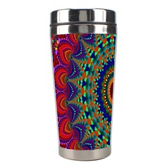 Kaleidoscope Mandala Pattern Stainless Steel Travel Tumblers