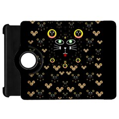 Merry Black Cat In The Night And A Mouse Involved Pop Art Kindle Fire Hd 7