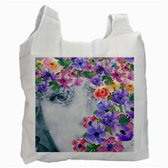 Flower Girl Recycle Bag (one Side)