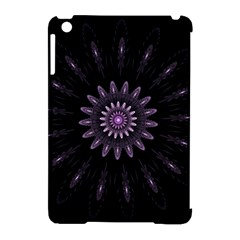 Fractal Mandala Delicate Pattern Apple Ipad Mini Hardshell Case (compatible With Smart Cover)