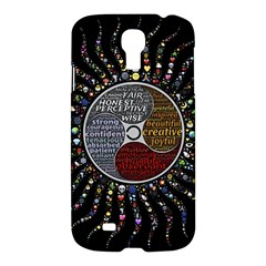 Whole Complete Human Qualities Samsung Galaxy S4 I9500/i9505 Hardshell Case