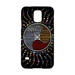 Whole Complete Human Qualities Samsung Galaxy S5 Hardshell Case