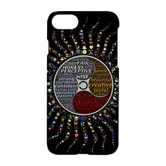 Whole Complete Human Qualities Apple Iphone 8 Hardshell Case