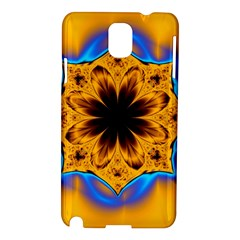 Digital Art Fractal Artwork Flower Samsung Galaxy Note 3 N9005 Hardshell Case