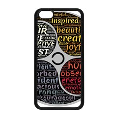 Person Character Characteristics Apple Iphone 5c Seamless Case (black)