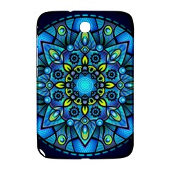 Mandala Blue Abstract Circle Samsung Galaxy Note 8 0 N5100 Hardshell Case