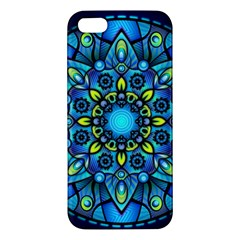Mandala Blue Abstract Circle Iphone 5s/ Se Premium Hardshell Case