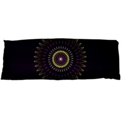Fractal Purple Mandala Violet Body Pillow Case (dakimakura)