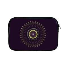 Fractal Purple Mandala Violet Apple Ipad Mini Zipper Cases