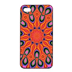 Abstract Art Abstract Background Apple Iphone 4/4s Seamless Case (black)