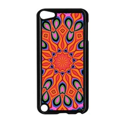 Abstract Art Abstract Background Apple Ipod Touch 5 Case (black)