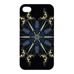 Mandala Butterfly Concentration Apple Iphone 4/4s Premium Hardshell Case