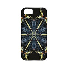 Mandala Butterfly Concentration Apple Iphone 5 Classic Hardshell Case (pc+silicone)