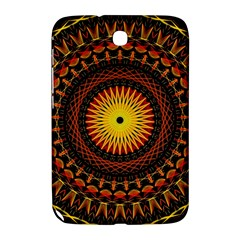 Mandala Psychedelic Neon Samsung Galaxy Note 8 0 N5100 Hardshell Case
