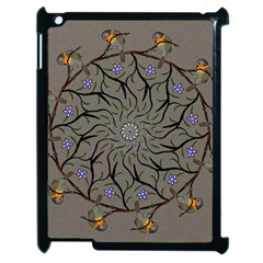 Bird Mandala Spirit Meditation Apple Ipad 2 Case (black)