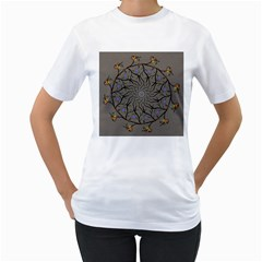 Bird Mandala Spirit Meditation Women s T Shirt (white)