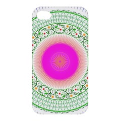 Flower Abstract Floral Apple Iphone 4/4s Hardshell Case