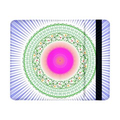 Flower Abstract Floral Samsung Galaxy Tab Pro 8 4  Flip Case