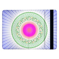 Flower Abstract Floral Samsung Galaxy Tab Pro 12 2  Flip Case