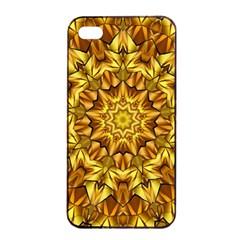 Abstract Antique Art Background Apple Iphone 4/4s Seamless Case (black)