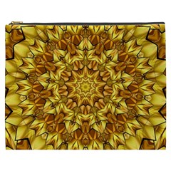 Abstract Antique Art Background Cosmetic Bag (xxxl)