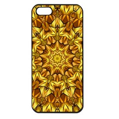 Abstract Antique Art Background Apple Iphone 5 Seamless Case (black)