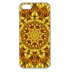 Abstract Antique Art Background Apple Seamless Iphone 5 Case (clear)