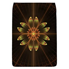 Fractal Floral Mandala Abstract Flap Covers (s)