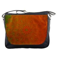 Background Paper Vintage Orange Messenger Bags