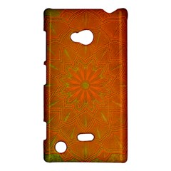 Background Paper Vintage Orange Nokia Lumia 720