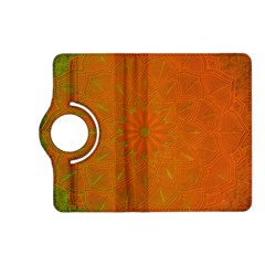 Background Paper Vintage Orange Kindle Fire Hd (2013) Flip 360 Case