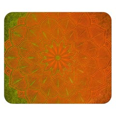 Background Paper Vintage Orange Double Sided Flano Blanket (small)